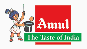 Amul The Taste of india Logo