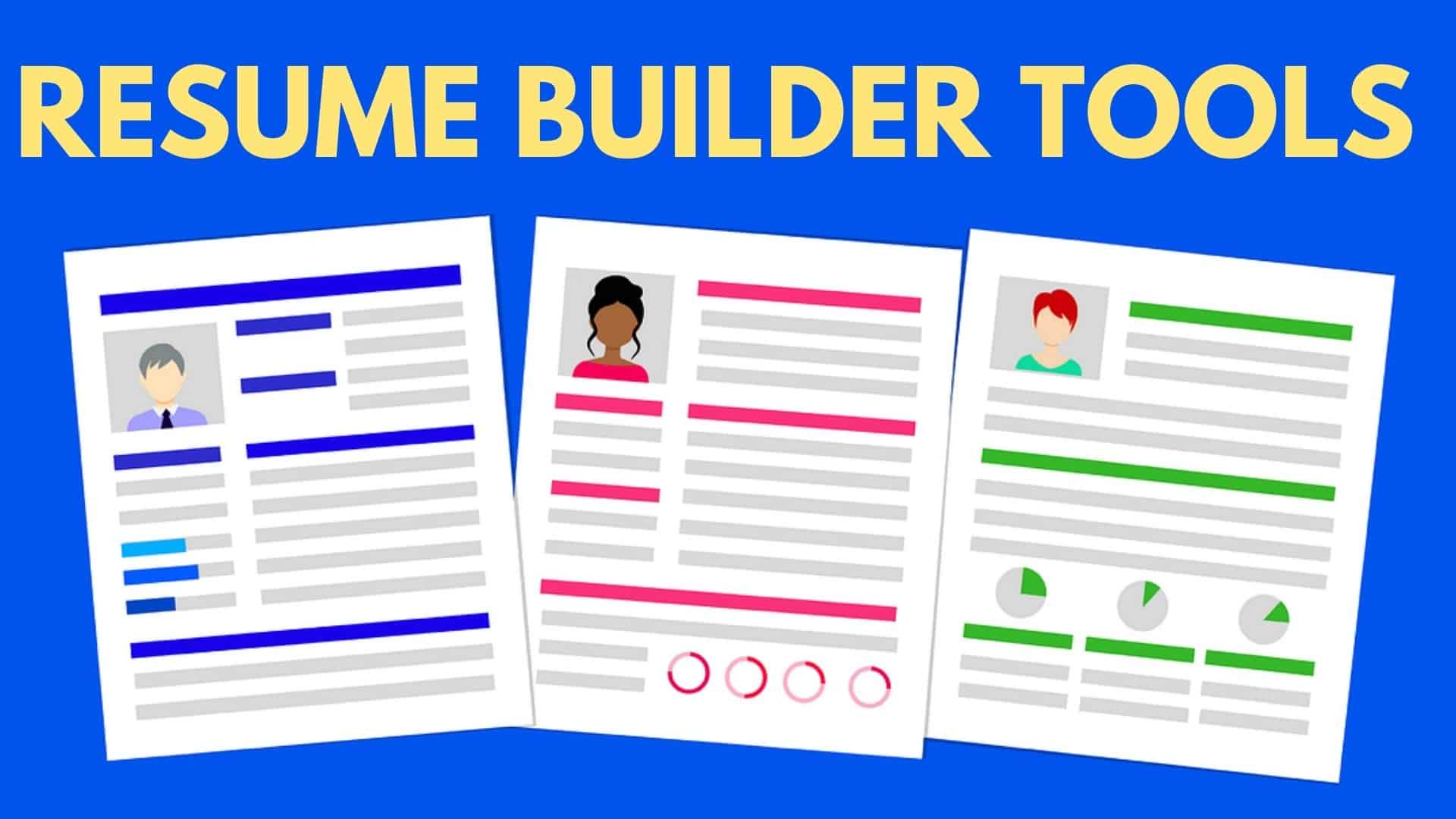 10 Best Free Resume Builder Tools Online In 2020 For Freshers Lookuptwice